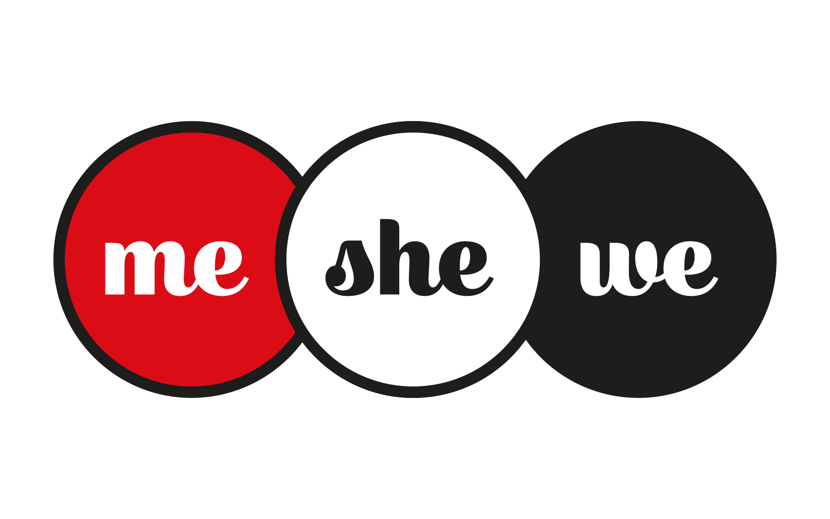 MeSheWe:s logotyp