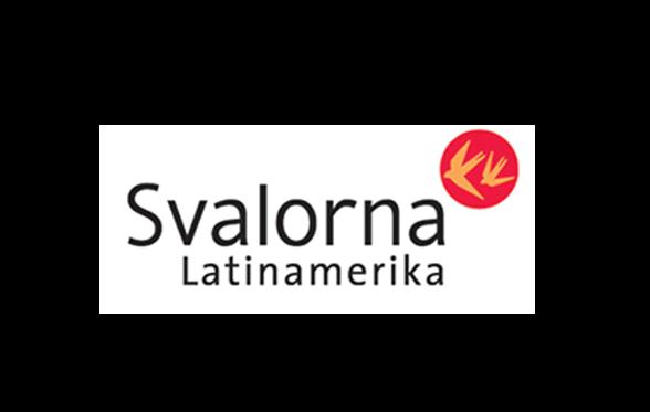Svalorna Latinamerikas logotyp