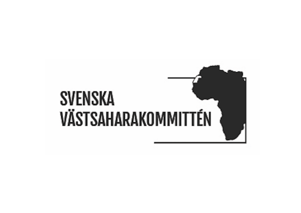 Svenska Västsaharakommitténs logotyp
