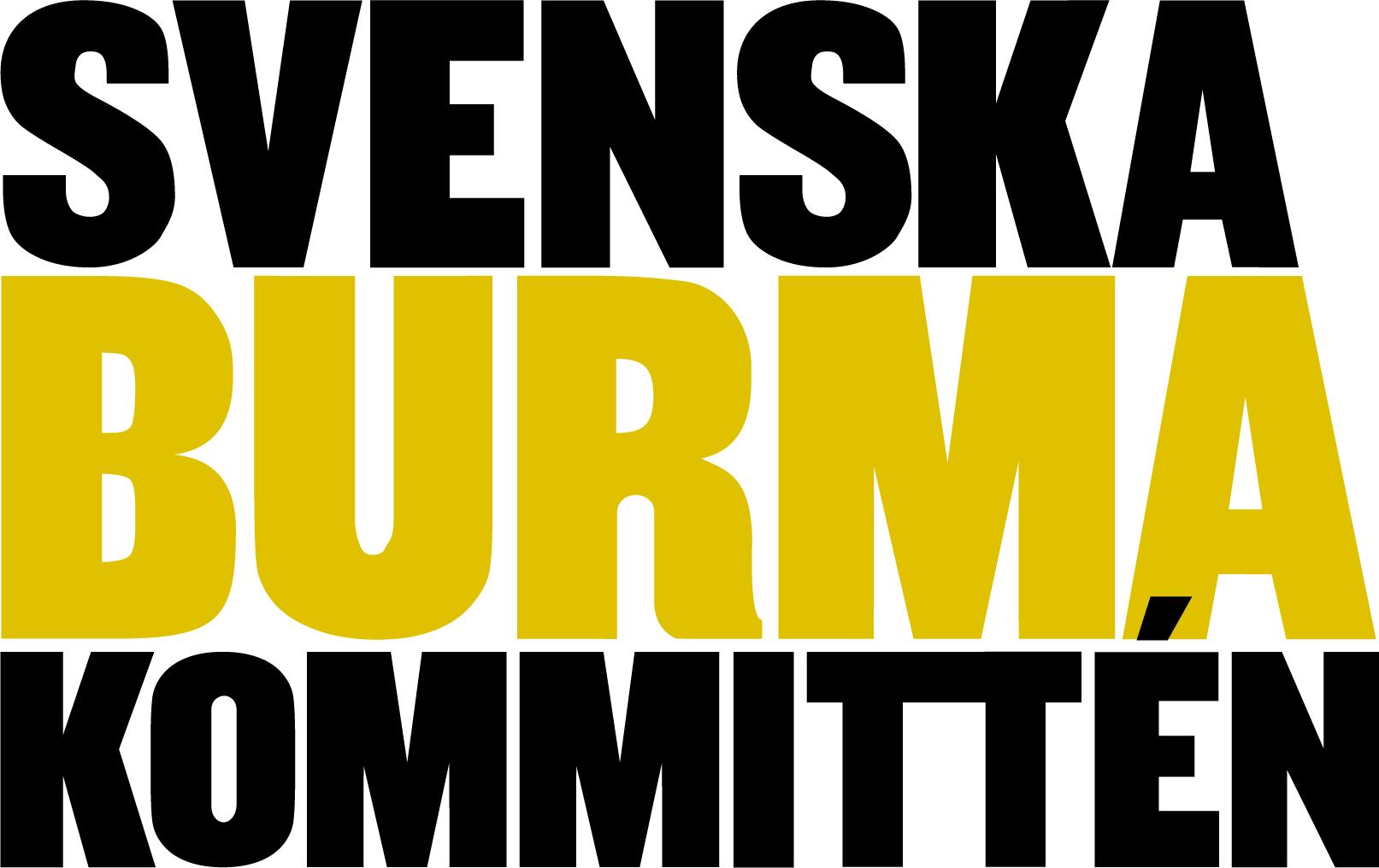 Svenska Burmakommitténs logotyp